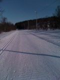 Well groomed cross country trails