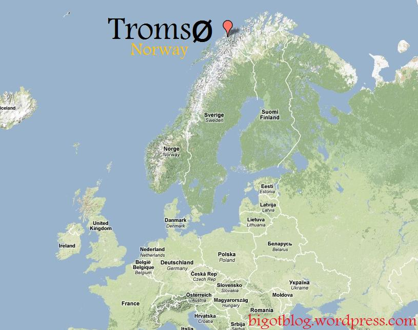 Tromso map arctic life at 69n troms norway tromso map gumiabroncs Images