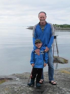 A little walk with grandpa