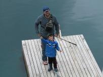 Odin caought a fish!