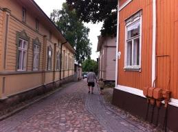 Old wooden village