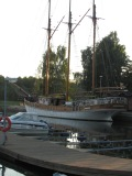 wooden schooner - site of karaoke