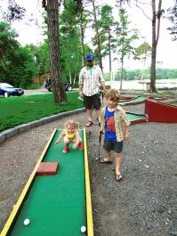 mini golf pros