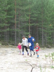 Orienteering with kids