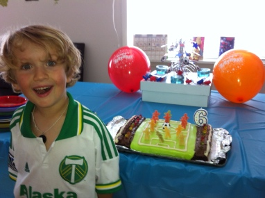 Age 6 - soccer party